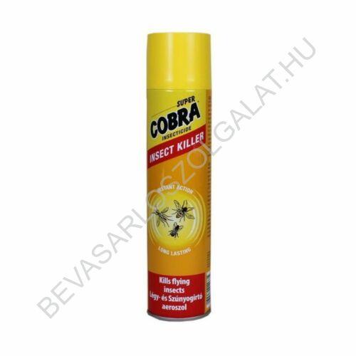 Super Cobra Légy- és Szúnyogírtó Aeroszol 400 ml