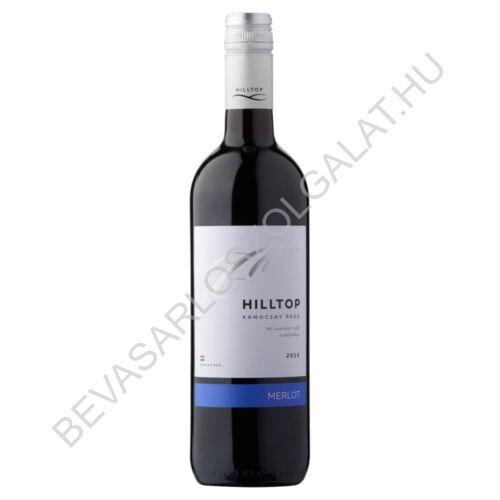 Hilltop Dunántúli Merlot Száraz Vörösbor 14% 0,75 l (#6)