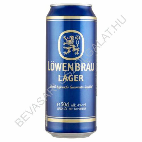 Löwenbrau Világos Sör 4% dobozos 0,5 l (#24)