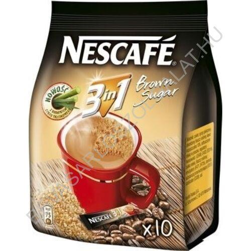 Nescafé 3in1 Instant Kávé Barna Cukorral 10x16,5 g = 165 g