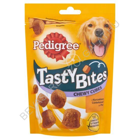 Pedigree Tasty Bites Jutalomfalat Kutyáknak Csirkehússal 130 g (#6)
