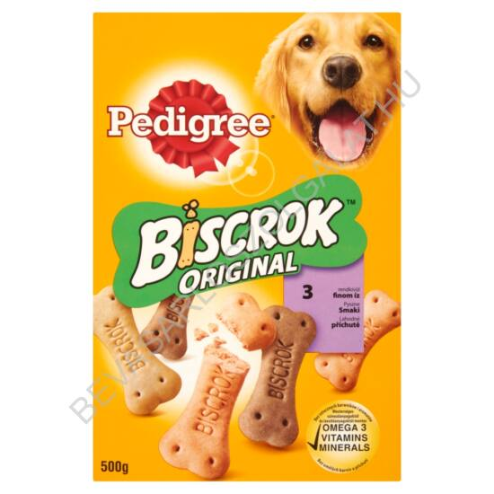 Pedigree Biscrok Original Jutalomfalat Kutyáknak 500 g