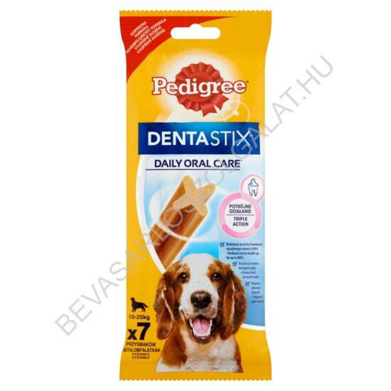 Pedigree Denta Stix Medium Fogtisztító Rúd Kutyáknak 10-25 kg 7 db 180 g