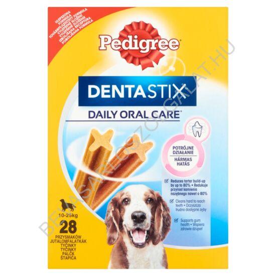 Pedigree Denta Stix Medium Fogtisztító Rúd Kutyáknak 10-25 kg 28 db 720 g