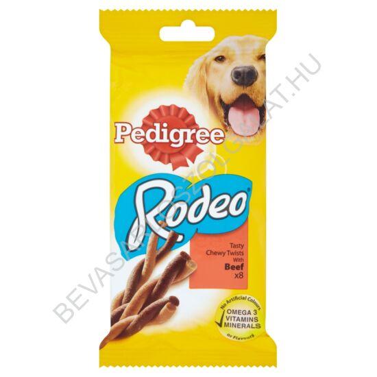 Pedigree Rodeo Jutalomfalat Kutyáknak Marhahússal 8 db 140 g