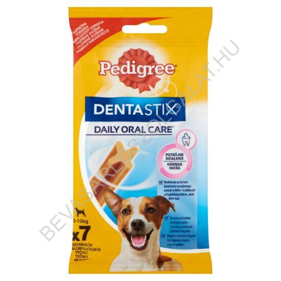 Pedigree Denta Stix Mini Fogtisztító Rúd Kutyának 5-10 kg 7 db 110 g
