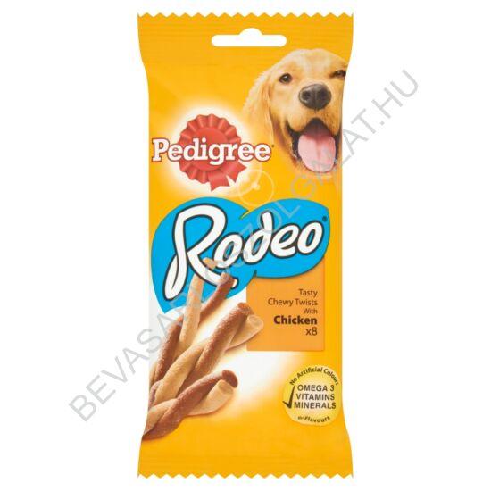Pedigree Rodeo Jutalomfalat Kutyáknak Csirkehússal 8 db-os 140 g