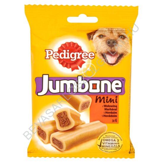 Pedigree Jumbone Mini kiegészítő állateledel marhával felnőtt kutyák számára 4 db 180 g