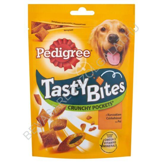 Pedigree Tasty Bites kiegészítő állateledel felnőtt kutyák számára csirkehússal 95 g
