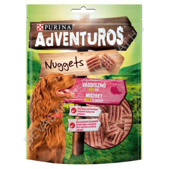 Purina AdVENTuROS Nuggets vaddisznó, vad ízű jutalomfalat kutyáknak 90 g (#6)