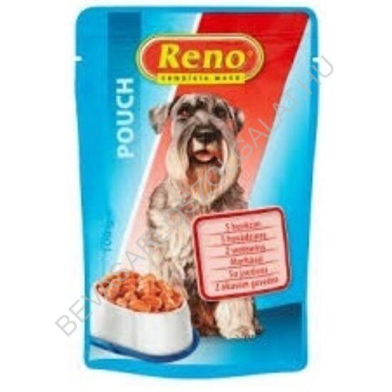 Reno Kutyaeledel Marhával alutasakos 100 g
