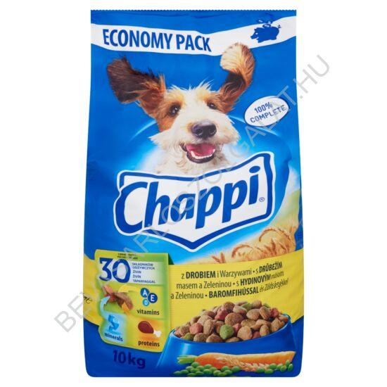 Chappi Száraz Kutyaeledel Baromfihússal és Zöldségekkel 10 kg