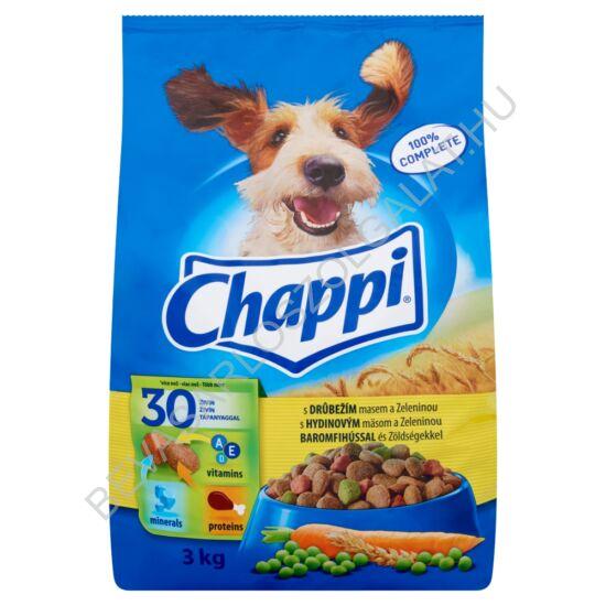 Chappi Száraz Kutyaeledel Baromfihússal és Zöldségekkel 3 kg