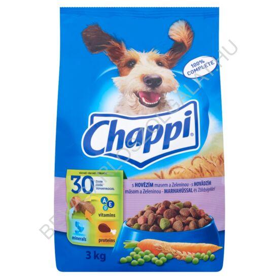 Chappi Száraz Kutyaeledel Marhahússal és Zöldségekkel 3 kg