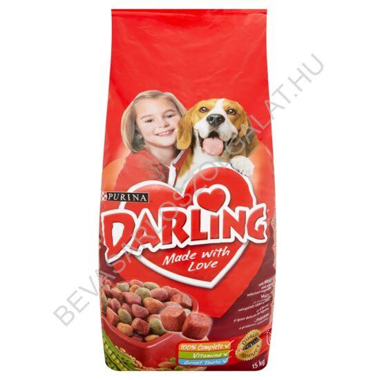 Darling Száraz Kutyaeledel Marhahússal és Zöldséggel 15 kg