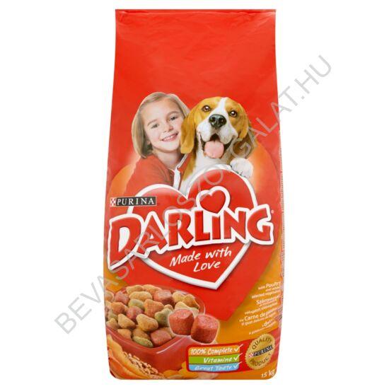 Darling Száraz Kutyaeledel Szárnyassal és Zöldségekkel 15 kg
