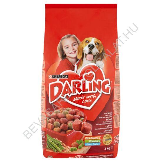 Darling Száraz Kutyaeledel Marhahússal és Zöldséggel 3 kg