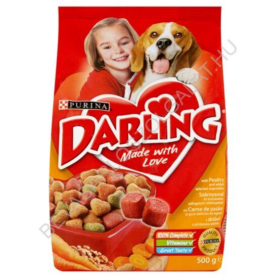 Darling Száraz Kutyaeledel Szárnyassal és Zöldséggel 500 g