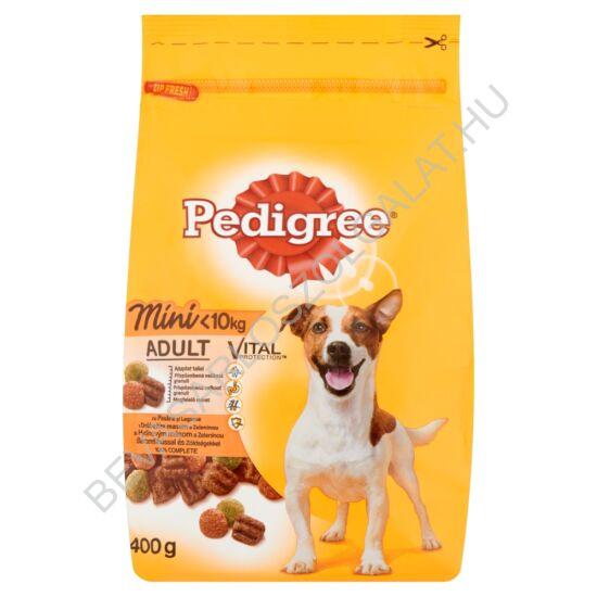 Pedigree Small Dogs Száraz Kutyaeledel Baromfihússal és Zöldséggel 400 g