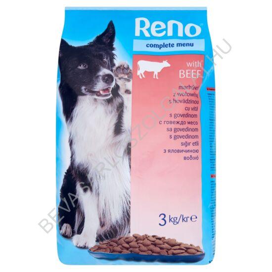 Reno Száraz Kutyaeledel Marhás 3 kg
