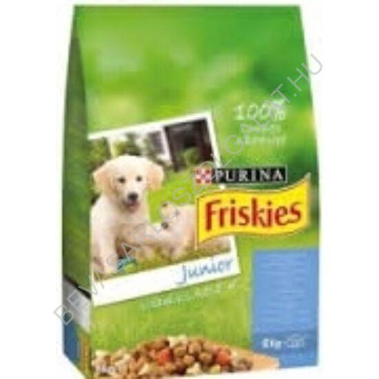 Friskies Junior Száraz Kutyaeledel Csirkehússal és Zöldségekkel 8 kg