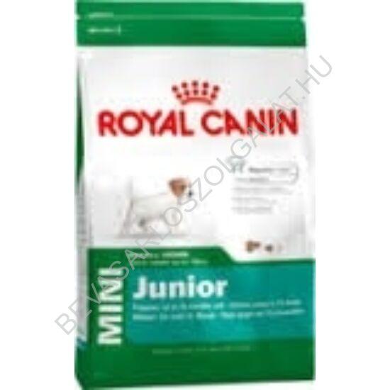 Royal Canin Mini Junior Száraz Kutyaeledel 800 g