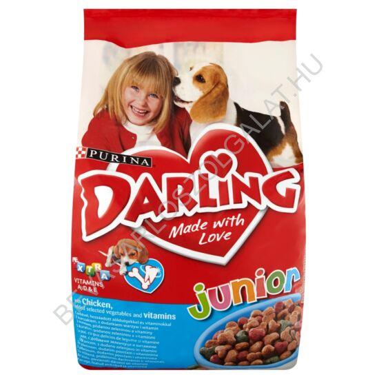 Darling Junior Száraz Kutyaeledel Csirkével és Zöldséggel 8 kg
