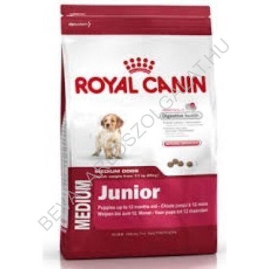 Royal Canin Medium Junior Száraz Kutyaeledel 4 kg