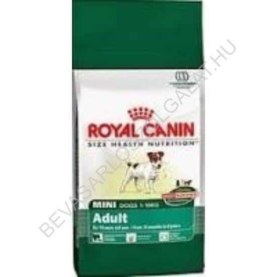 Royal Canin Száraz Kutyaeledel  Adult Mini 4 kg
