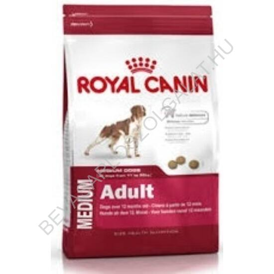 Royal Canin Száraz Kutyaeledel  Adult Medium 4 kg