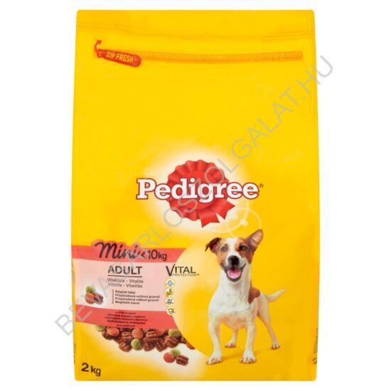 Pedigree Small Dogs Száraz Kutyaeledel Marhahússal és Zöldséggel 2 kg
