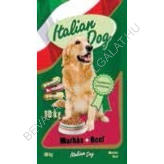 Italian Dog Száraz Kutyaeledel Marhás 10 kg