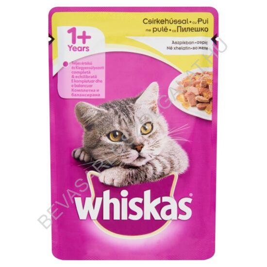 Whiskas Alutasakos Macskaeledel Csirkehússal Aszpikban100 g