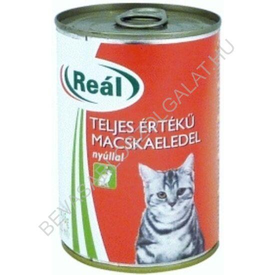 Reál Teljes Értékű Macskaeledel Nyúlhússal konzerv 415 g (#24)
