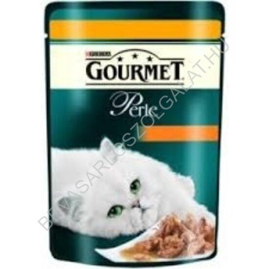Gourmet Perle Alutasakos Macskaeledel Falatok Szószban Csirkével 85 g
