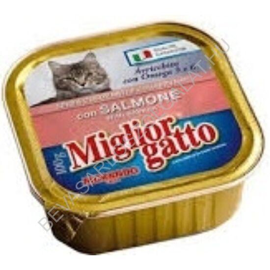 Miglior Gatto Professional Macskaeledel Alutálkás Lazaccal konzerv 100 g