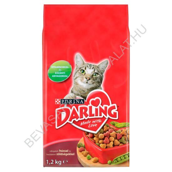 Darling Száraz Macskaeledel Hússal 2 kg