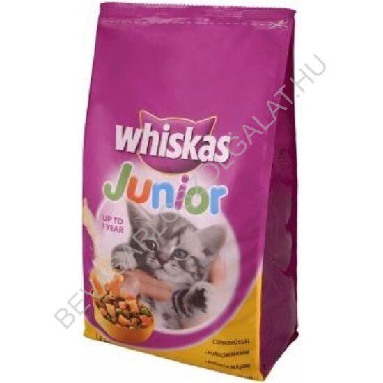 Whiskas Száraz Macskaeledel Junior - Csirkehússal 1,2 kg