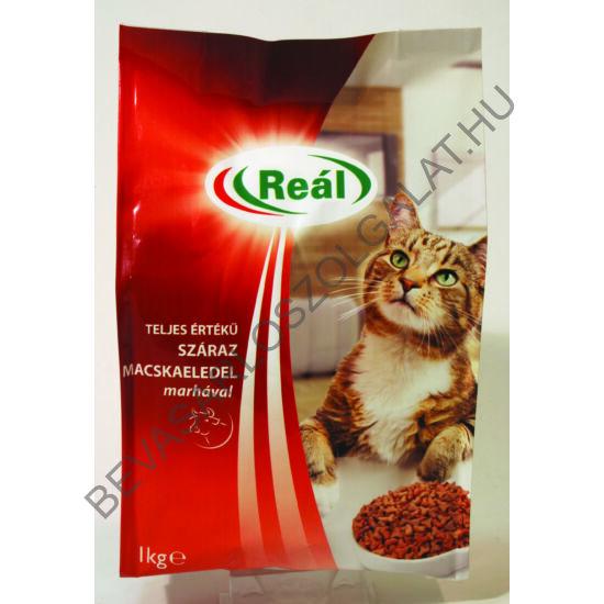 Reál Teljes Értékű Száraz Macskaeledel Marhával 1 kg (#8)