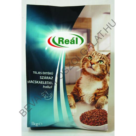 Reál Teljes Értékű Száraz Macskaeledel Hallal 1 kg (#8)