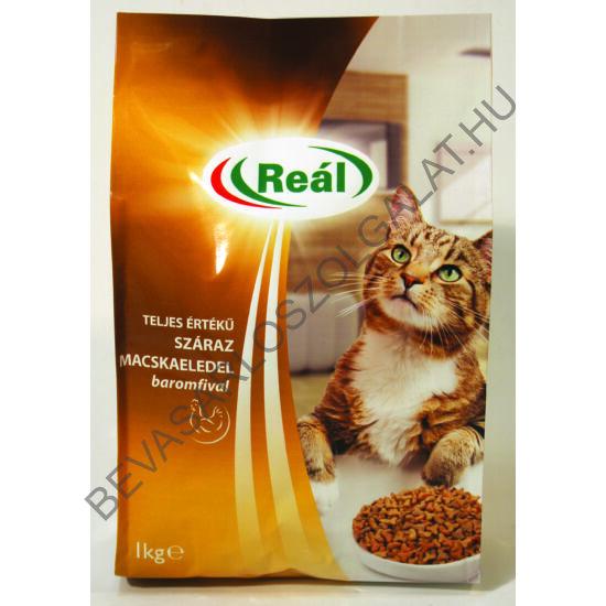 Reál Teljes Értékű Száraz Macskaeledel Baromfival 1 kg (#8)