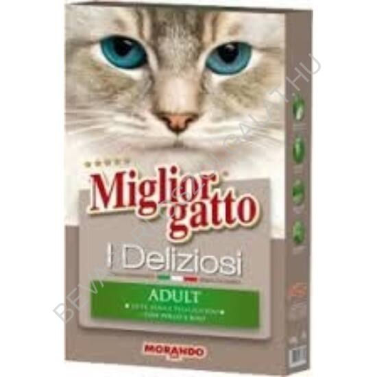Miglior Gatto I Deliziosi Száraz Macskaeledel Adult Csirkehússal 400 g