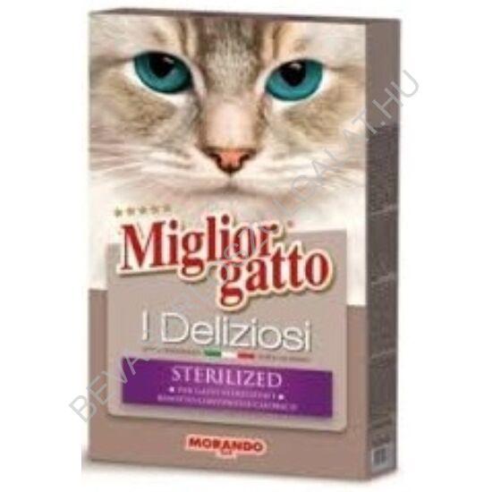 Miglior Gatto I Deliziosi Száraz Macskaeledel Sterilized 400 g