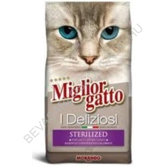 Miglior Gatto I Deliziosi Száraz Macskaeledel Sterilized 2 kg