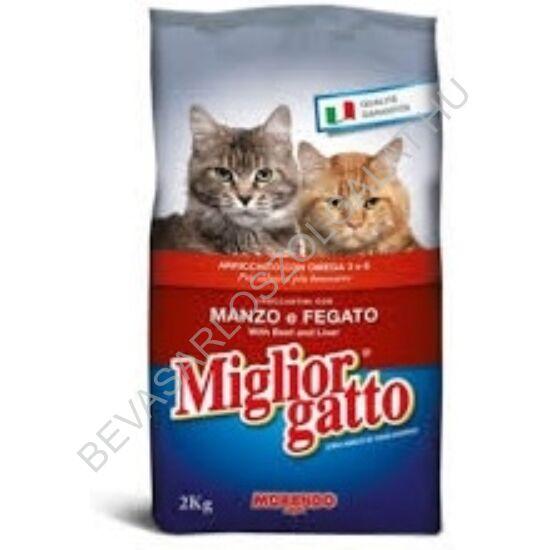 Miglior Gatto Száraz Macskaeledel Marha - Máj 2 kg