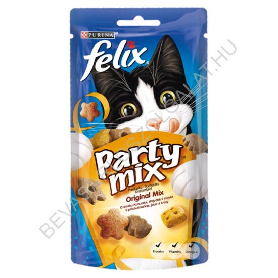 Félix Party Mix Jutalomfalat Macskáknak Original Mix 60 g