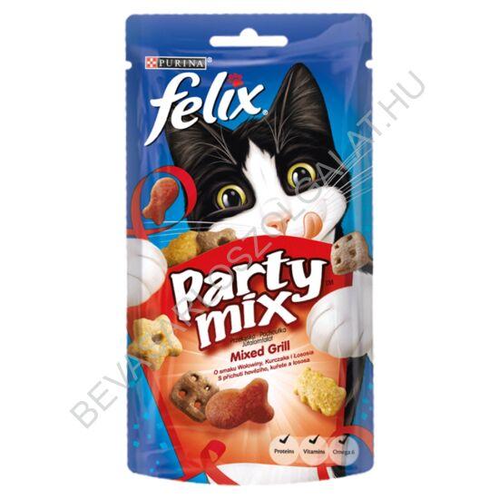 Félix Party Mix Jutalomfalat Macskáknak Mixed Grill 60 g