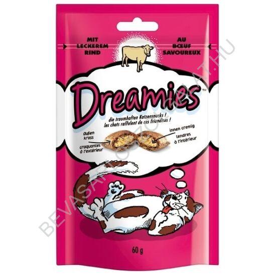 Dreamies Jutalomfalat Macskáknak Marhahússal 60 g