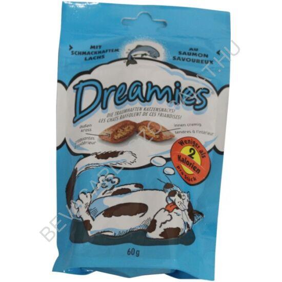 Dreamies Jutalomfalat Macskáknak Lazaccal 60 g