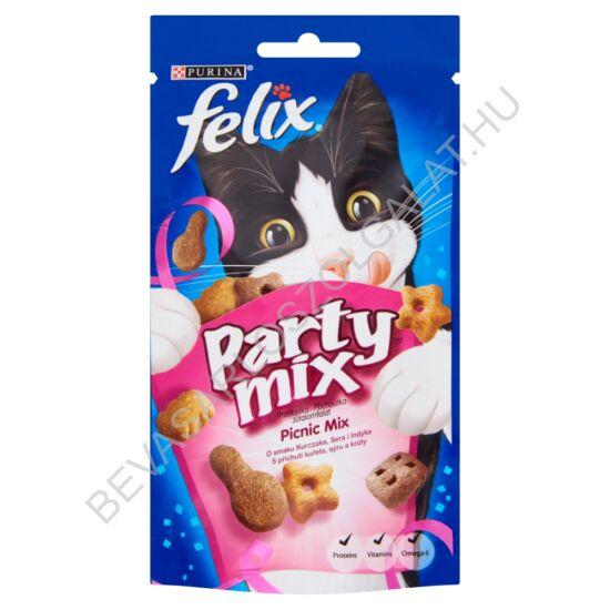 Felix Party Mix Jutalomfalat Macskáknak Picnic Mix 60 g (#8)